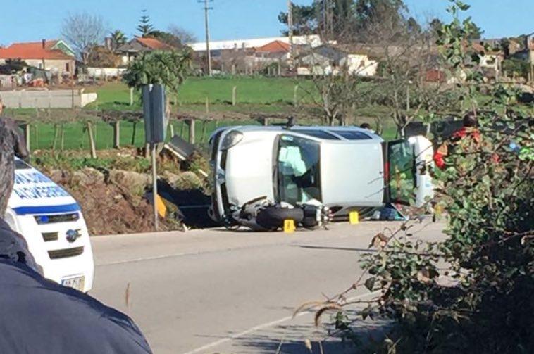 Motociclista morre em violenta colisão contra automóvel