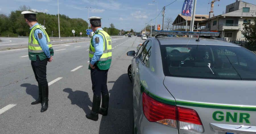 GNR detém 28 pessoas e apanha 84 em excesso de velocidade