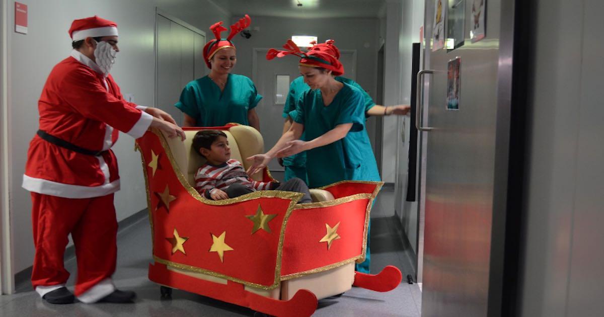 Natal volta a levar alegria ao Hospital de Braga - Programa c1b7b82005266