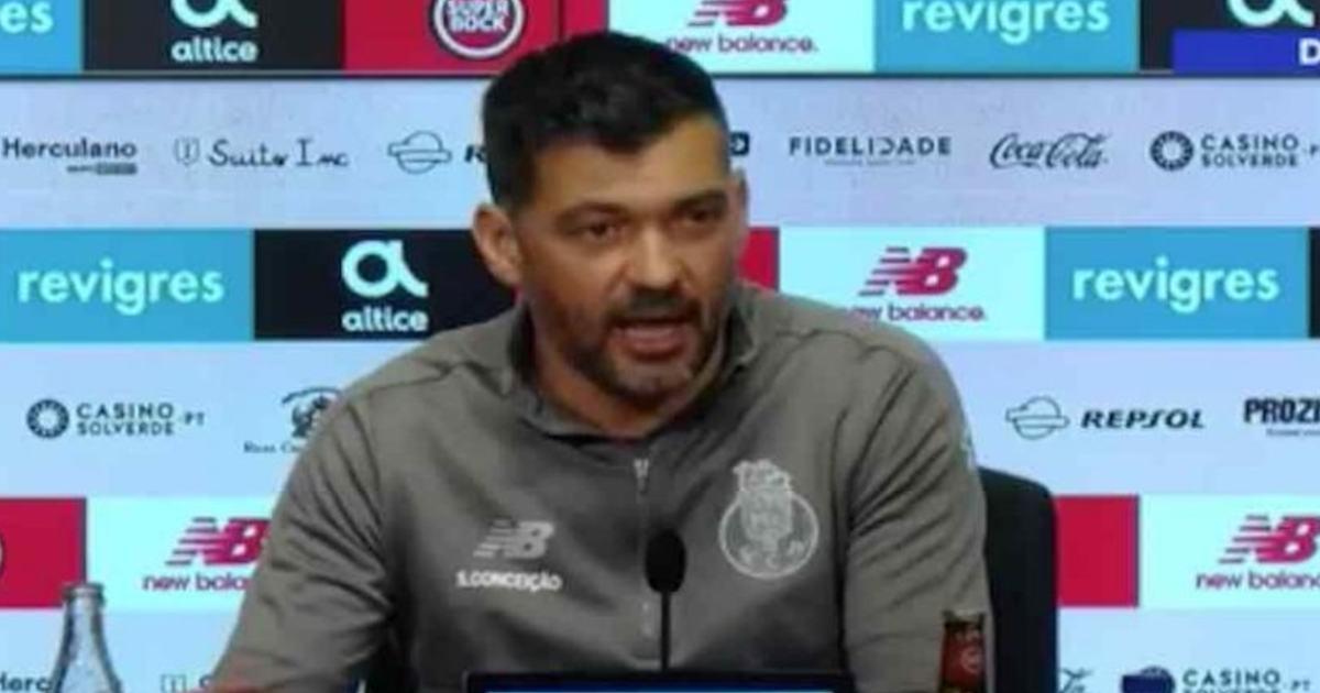 """e739ef7aed Sérgio Conceição espera jogo difícil frente """"à equipa revelação"""" da ..."""