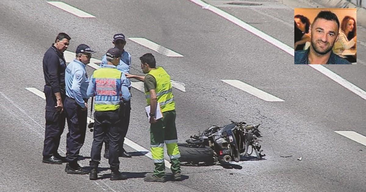 URGENTE Neste momento motociclista morre em acidente no