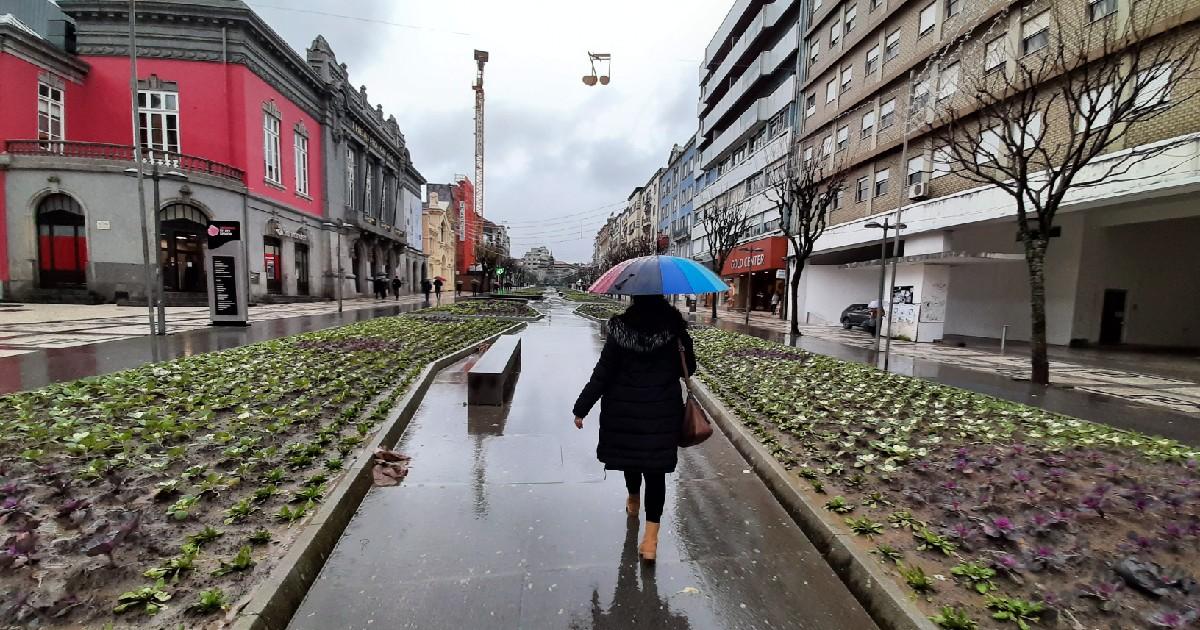 Braga chuva avenida da liberdade